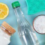 Nettoyant de sol multi-usage bicarbonate de soude et vinaigre blanc